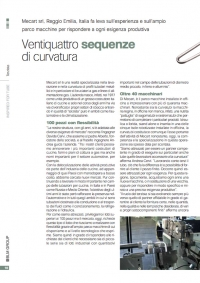 Press Release Mecart sulla rivista Blm Group
